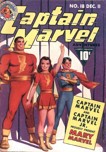 Captain Marvel Adventures #18 - Page 1